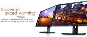 Dell Award-winning Monitors